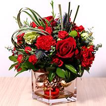 Decorative Xmas Floral Vase: Christmas Gifts