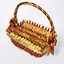 Stuffed Dates and Baklava Basket: Food Gifts