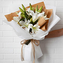 Beautiful Lilies Bouquet: New Arrival Gifts