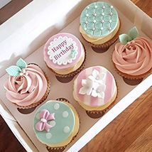 Birthday Decorated Cupcakes: New Arrival Gifts in Dubai