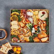 Cheese and Savoury Happiness Box: Edible Gifts